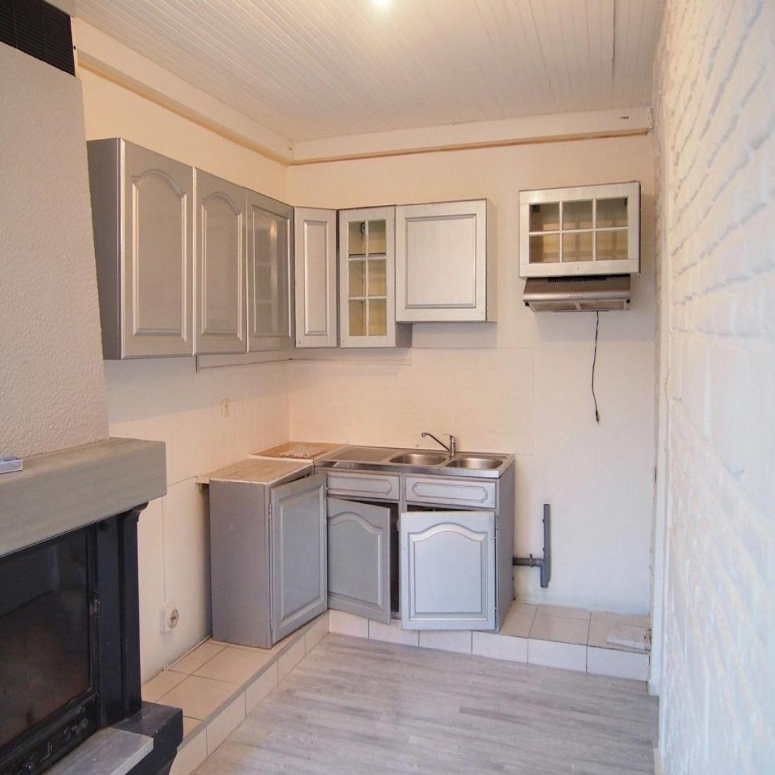vente Maison ancienne, cuisine, séjour, 1 chambre   Abrinor